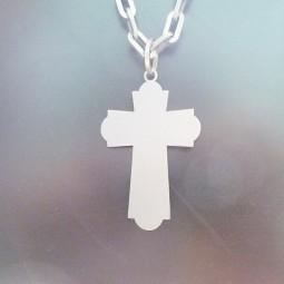 Крест титановый
