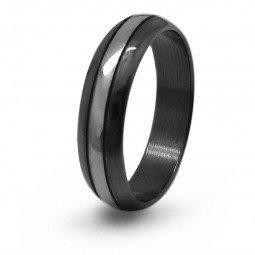 Кольцо титановое обручальное