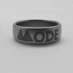 """Кольцо """"Depeche Mode"""" (индивидуальный заказ, глубокая гравировка)"""