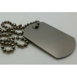 Армейский жетон из титана