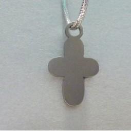 Крест титановый детский Т52