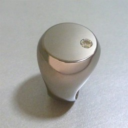 Перстень из титана с муассанитом