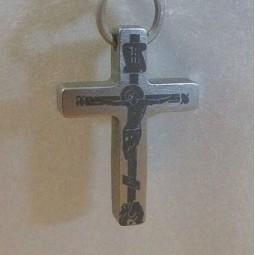 Крест из титана Т45