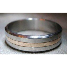 Обручальное кольцо Т7030 с желтым золотом