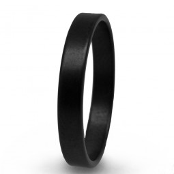 Кольцо из черного титана