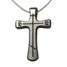 Крест титановый православный Т57