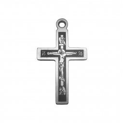 Крест титановый православный Т55