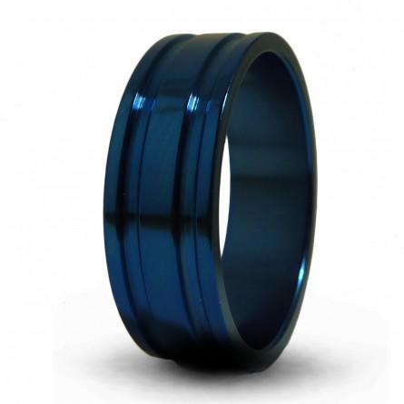Синее кольцо Т1043