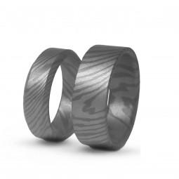 Обручальные кольца из тимаскуса