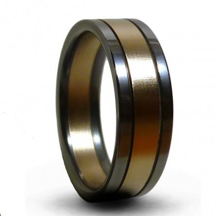 Кольцо титановое Т8034