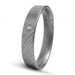 Кольцо из тимаскуса с бриллиантом Т4012тм